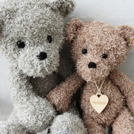 Teddy Friends Mönster Go Handmade