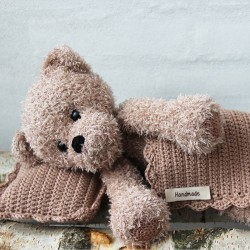 Teddy with blanket and pillow - Basse Patterns Go Handmade