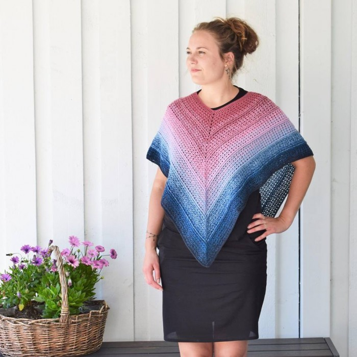 Timeless Poncho - Twister Anleitungen