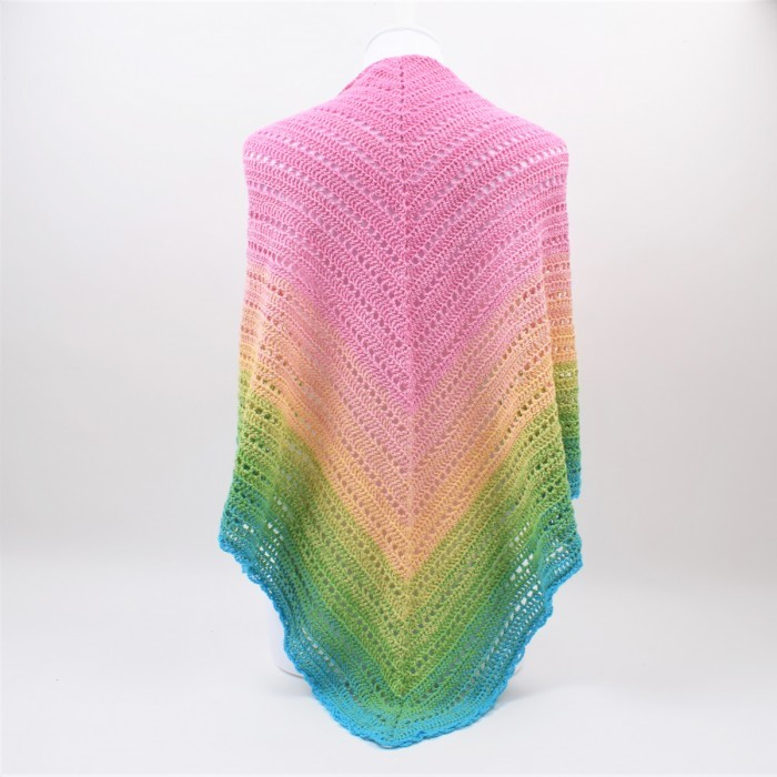 Classical Attitude shawl Patterns