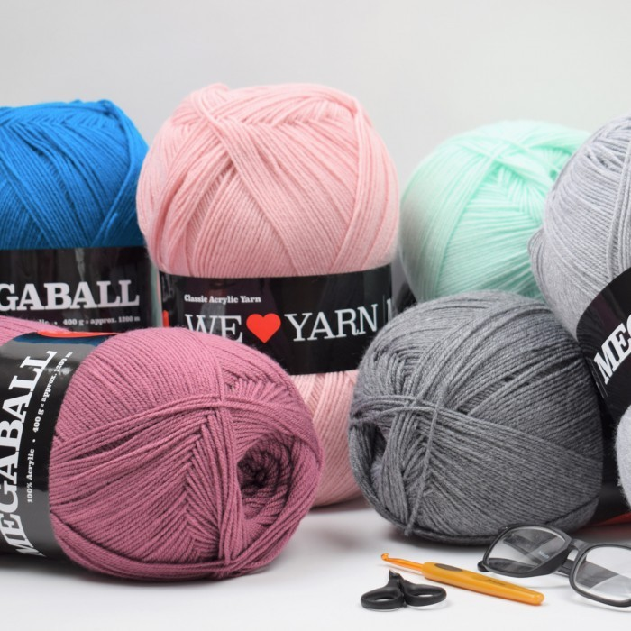 Mega Ball 400g Fils We Love Yarn