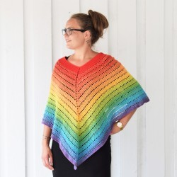 Classical Attitude Poncho - Voksen Patterns