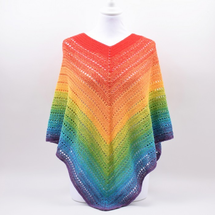 Classical Attitude Poncho - Adult Size Patterns