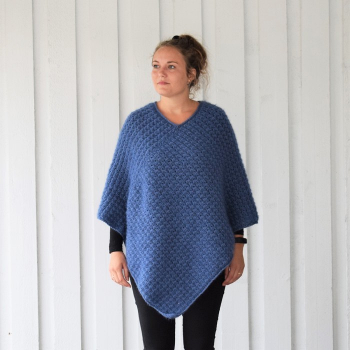 Autumn Waves Poncho Anleitungen