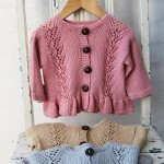 Cardigan Lace Flounce Patterns Go Handmade