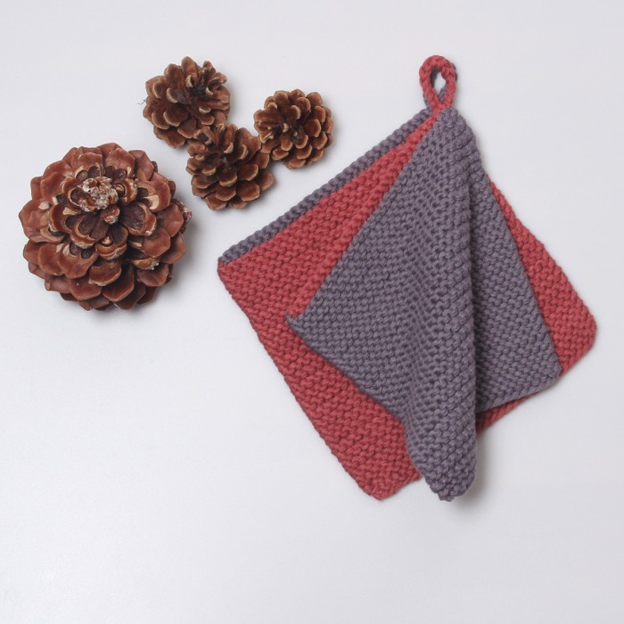 Pot holders with edge Patterns