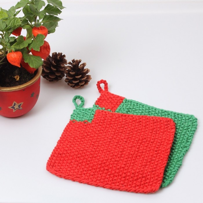 Christmas Potholders Patterns