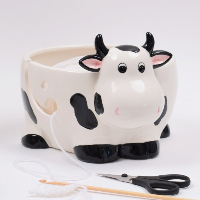 Yarn Bowl – Connie the Cow Christmas Gift Ideas Hobbii