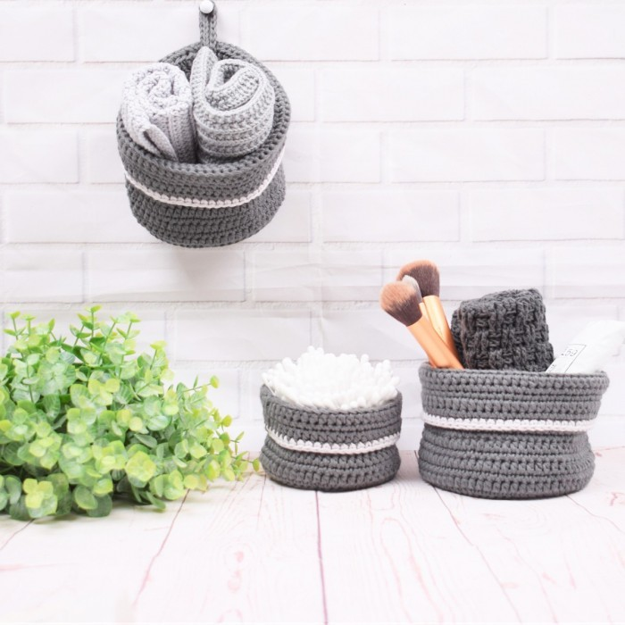 Small Hanging Basket - Cotton Patterns