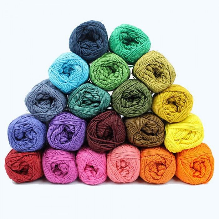 Cotton 8/4 - Temperaturdecke - 20 Farben Garn & Wolle Mayflower