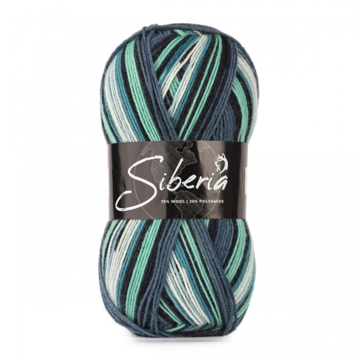 Siberia socksgarn Garn World of Yarn
