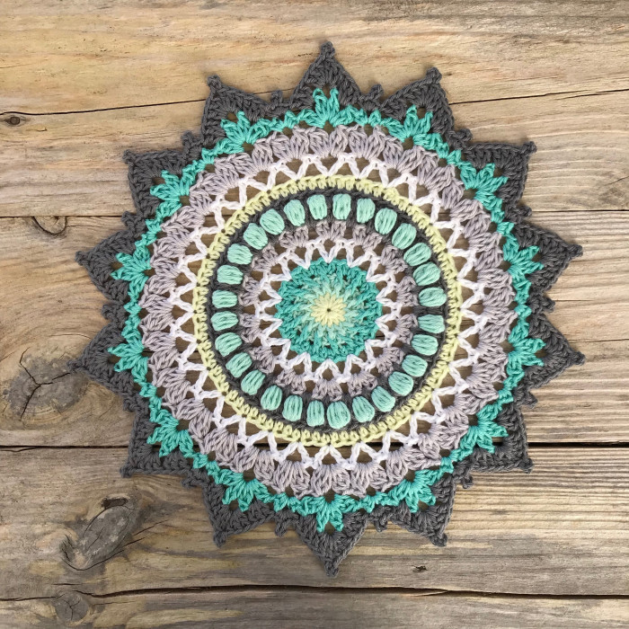 Sunflower Mandala Mönster