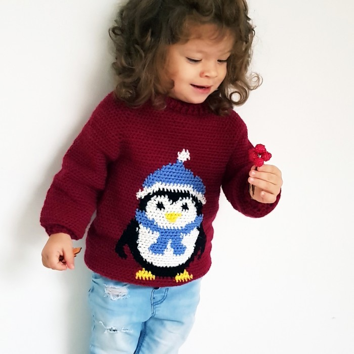Penguin Sweater  Patterns
