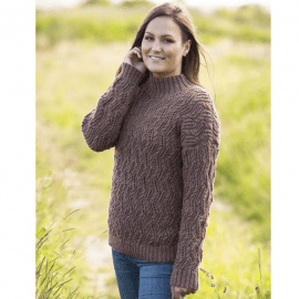 1765 - Mønstret sweater Oppskrifter Mayflower