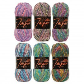 Jaipur Color Bag Garn World of Yarn
