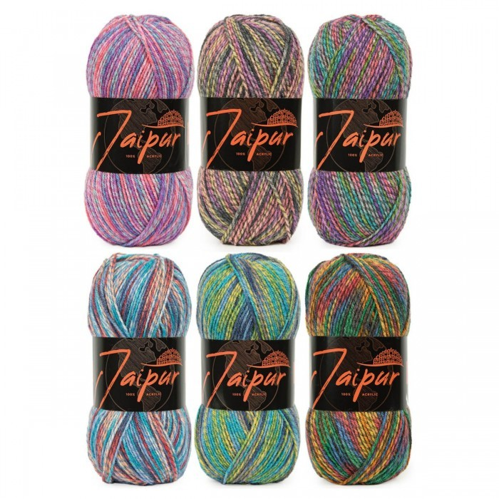 Jaipur Color Bag Garens World of Yarn