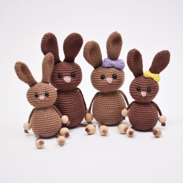 Easter Bunnies - Small Patterns