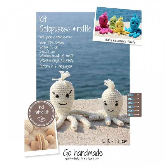 Pattern Pack (Crochet) - Octopus & Rattle Stock Clearance Sale Go Handmade