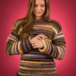 EK3 - Løs damesweater i Mayflower Easy Knit Oppskrifter Mayflower