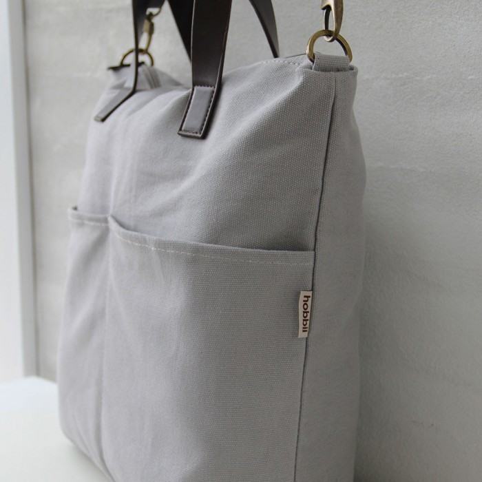Shoulder Bag for Yarn (with outer pockets) Yarn Bags Hobbii
