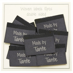 10 Labels - Made by Tante - 3,5 cm  Made by Labels  Go Handmade