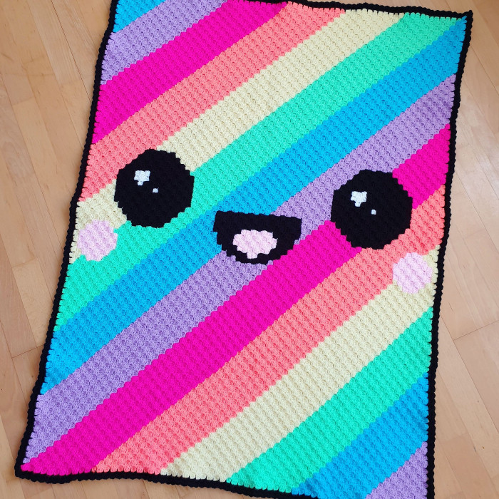 Kawaii Rainbow - Blanket Patterns
