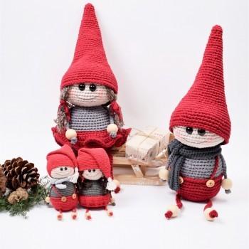 Amigurumi - Weihnachtswichtel häkeln