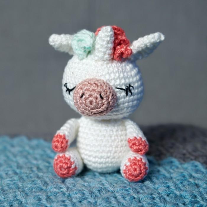 Amigurumi unicorn plush, FREE SHIPPING, Unicorn amigurumi, Stuffed ... | 700x700