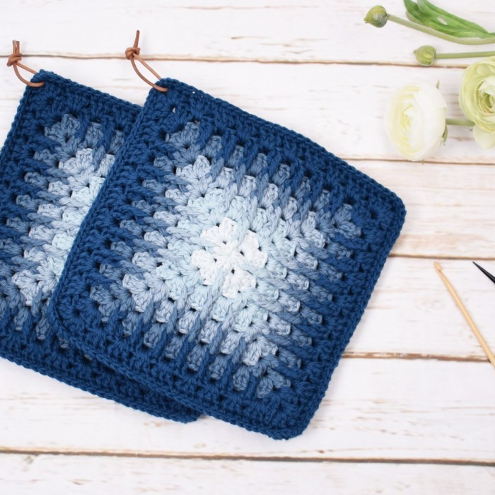 Granny Grooves - Mix - Potholders Patterns