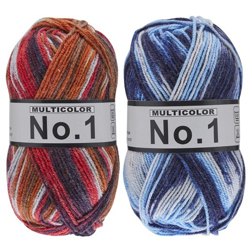 No.1 Multi Fils Lammy garn