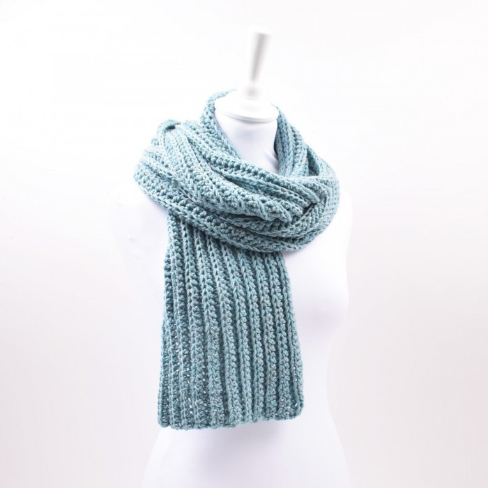 Merino Grooves Scarf Patterns