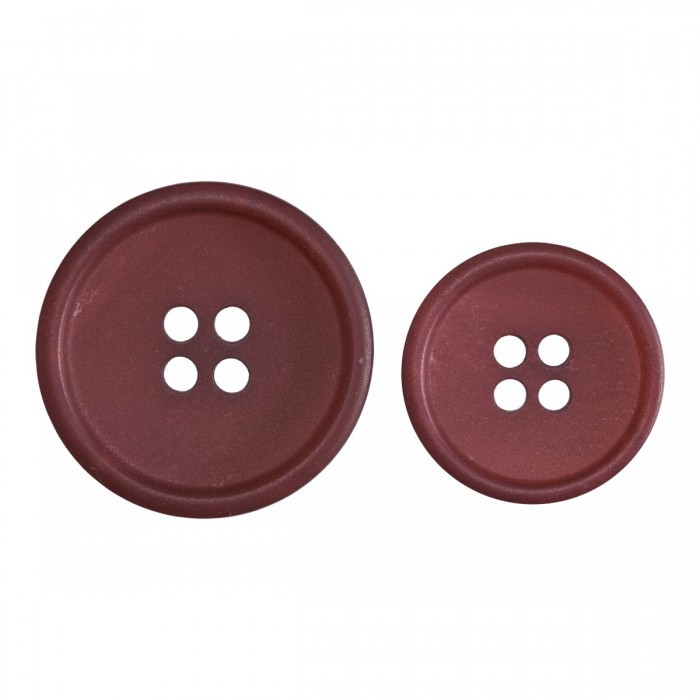 Bordeaux Buttons out of Recycled Paper Accessories