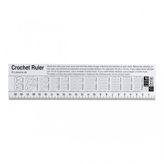 Crochet Gauge Ruler Accessories Lillestrik