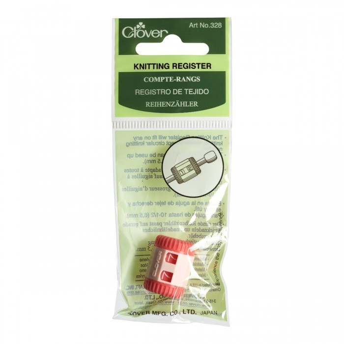 Row Counter for Needles - Red Accessories Clover