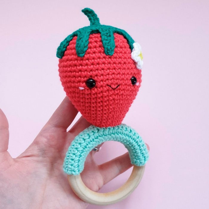 Kawaii Strawberry - Rattle Patterns