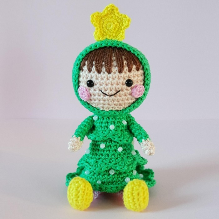 Christmas Tree Doll Patterns