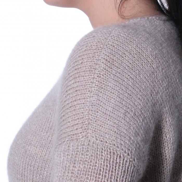 charlotte strikket genser