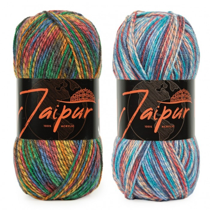 Jaipur Ovillos y madejas World of Yarn