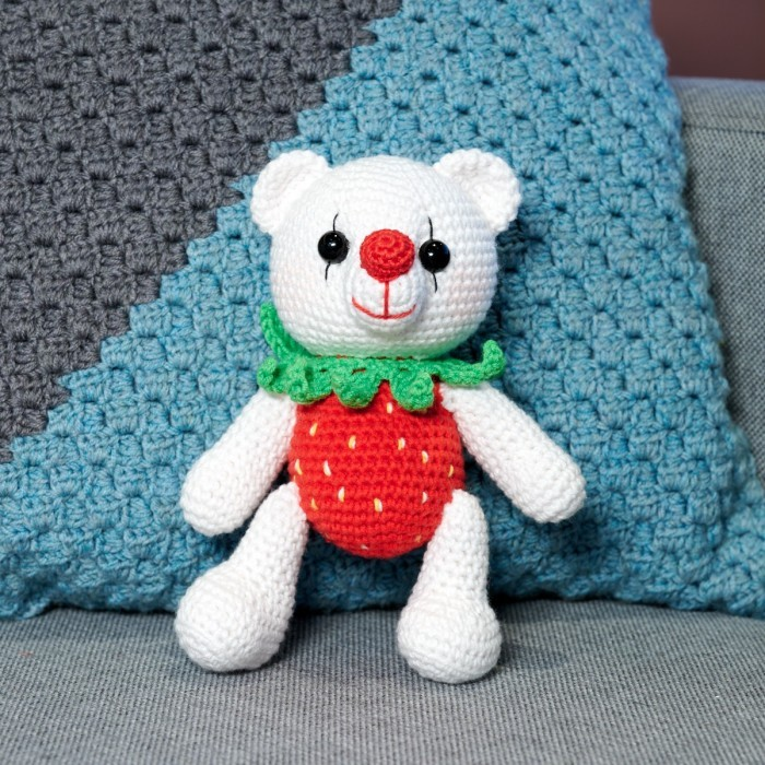 Rachel the Strawberry Bear Patterns
