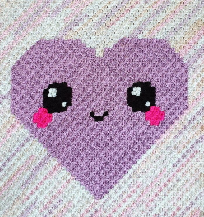 Kawaii Love - Blanket Patterns