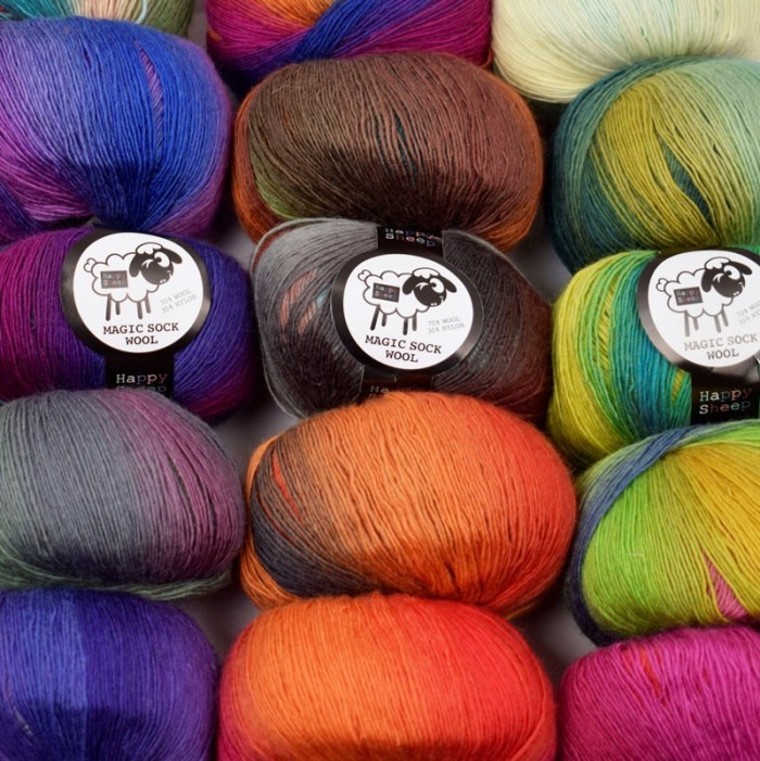 Magic Sock Wool Yarn Happy Sheep