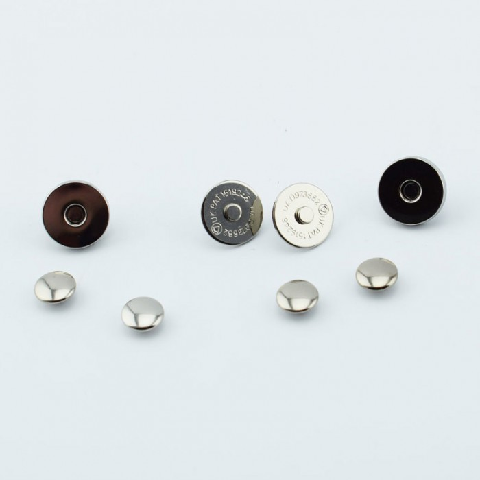 Magnetic snap buttons - 13mm - 2 sets Accessories