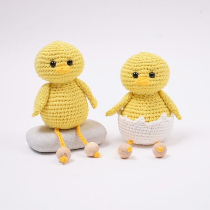 Easter Chicks with Shell - Small Patterns