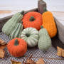 Decorative Pumpkins - Round  Patterns