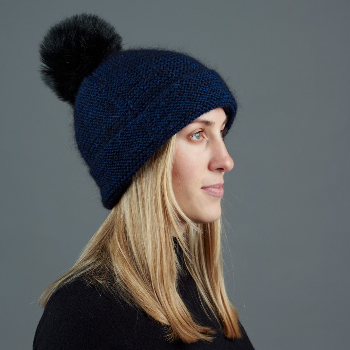 Hat in garter stitch  Patterns Hobbii