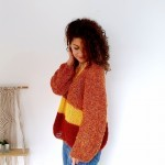Rusty Gold Sweater Patronen
