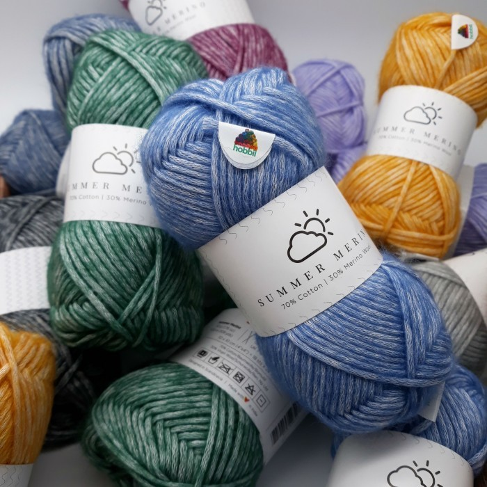 Summer Merino Yarn Hobbii