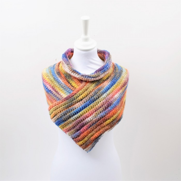 Cuello - Winter Glow Patrones