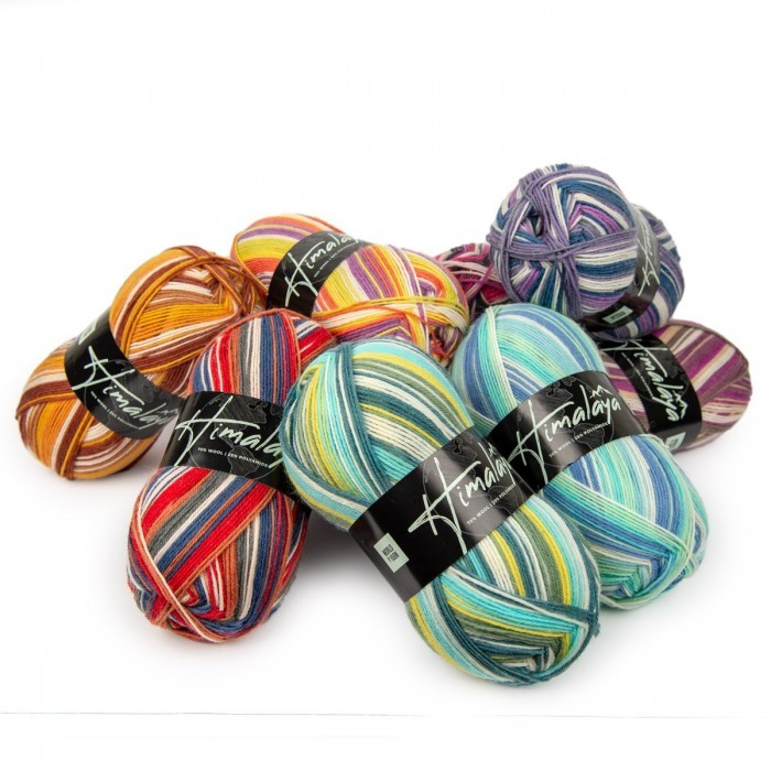 Fils à chaussettes Lucky Bags Fils World of Yarn