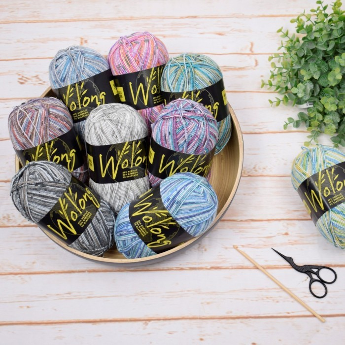 Wolong Sock Yarn Yarn World of Yarn